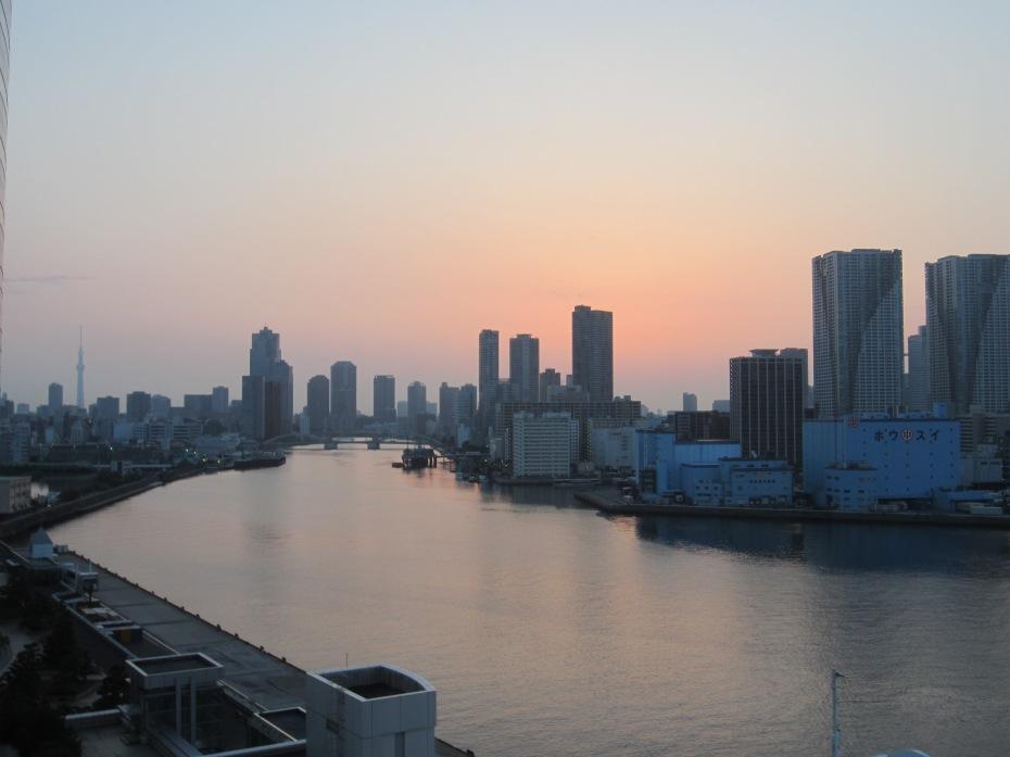 tokyo bay view morning