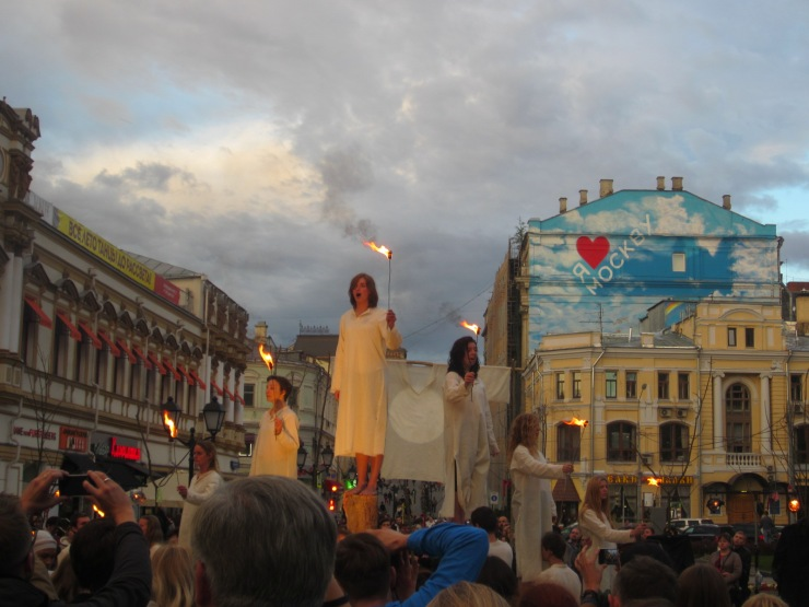 dramatic performance moscow