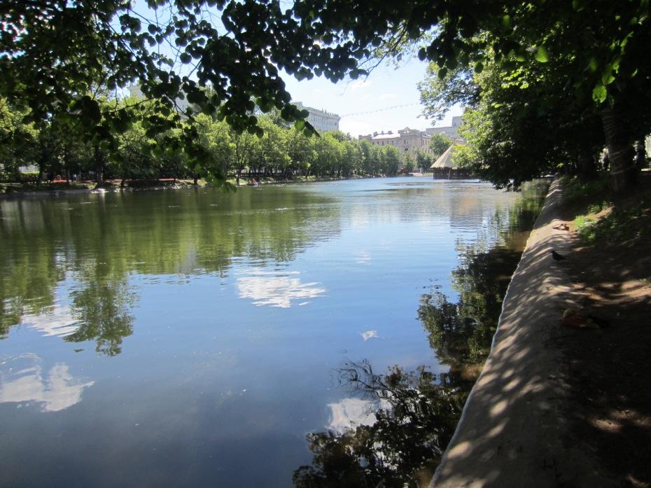 chistye prudi - clean lakes Moscow