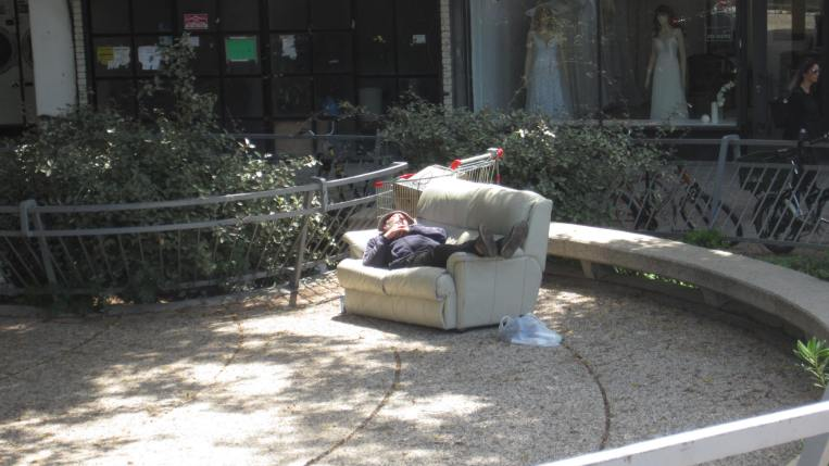 most-comfortable-homeless-ever