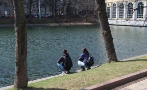 moscow pond chistye prudy